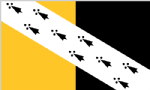 Norfolk Large County Flag - 5' x 3'.